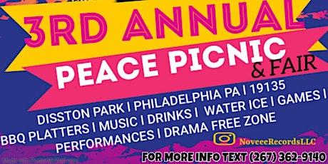 NOVEEE RECORDS  3rd ANNUAL PEACE PICNIC & FAIR tickets
