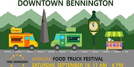 Bennington Annual Food Truck Festival tickets