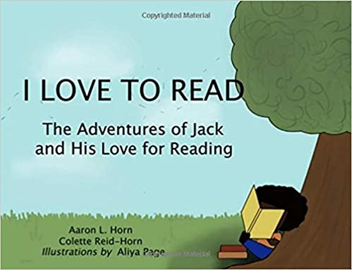 Family Event: I Love to Read, Read-Aloud + Discussion w/Authors 20210617 image