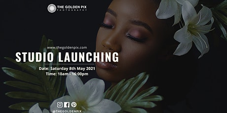 The Golden Pix Photography STUDIO LAUNCH tickets