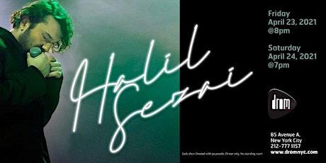 Halil Sezai at DROM tickets