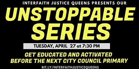 The Unstoppable Series: Housing and the Criminal Justice System tickets
