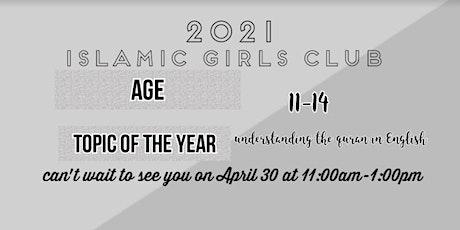 Islamic girls club tickets