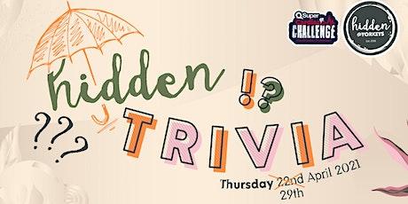 Hidden Trivia - Trivia Night tickets