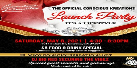 Conscious Kreations Launch Party tickets