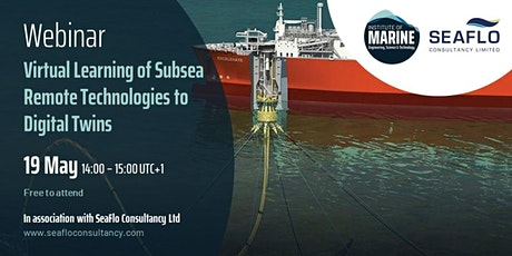 WEBINAR: Virtual Learning of Subsea Remote Technologies to Digital Twins tickets