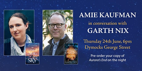 Amie Kaufman In Conversation with Garth Nix tickets