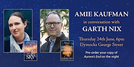 Amie Kaufman In Conversation with Garth Nix tickets