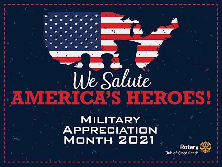 Military Appreciation Yard Sign Fundraiser image