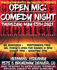 OPEN MIC (COMEDY NIGHT) | OPEN SIGN UP | ALL EXP. LEVELS tickets