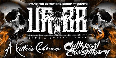 Upon A Burning Body At The Rail Club Live tickets