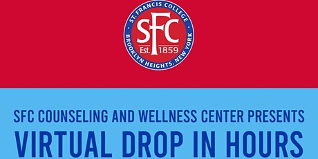 SFC Counseling and Wellness Center Presents Virtual Drop-in Hours tickets