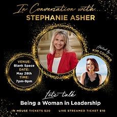 In Conversation with... Mayor Stephanie Asher tickets