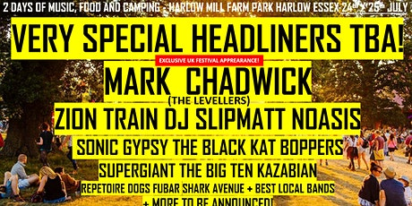 GET READY FOR: THE BREAKOUT FESTIVAL 2021! Harlow Mill Farm Park Farm Essex tickets