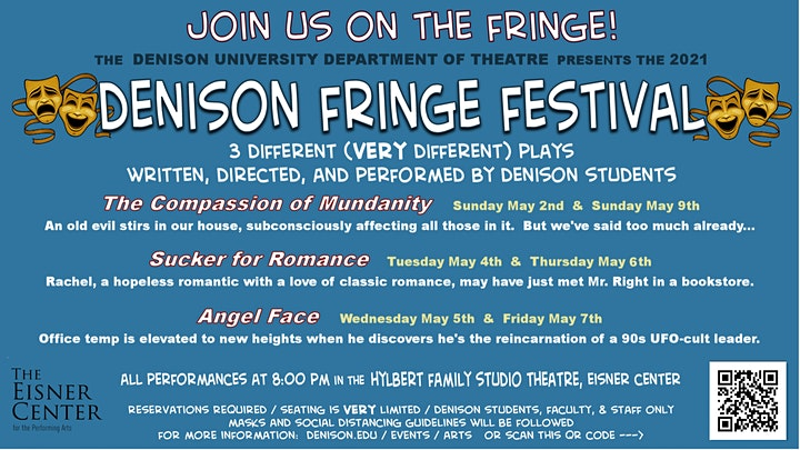 Fringe Festival 'The Compassion of Mundanity' by Echo Cain '21 image