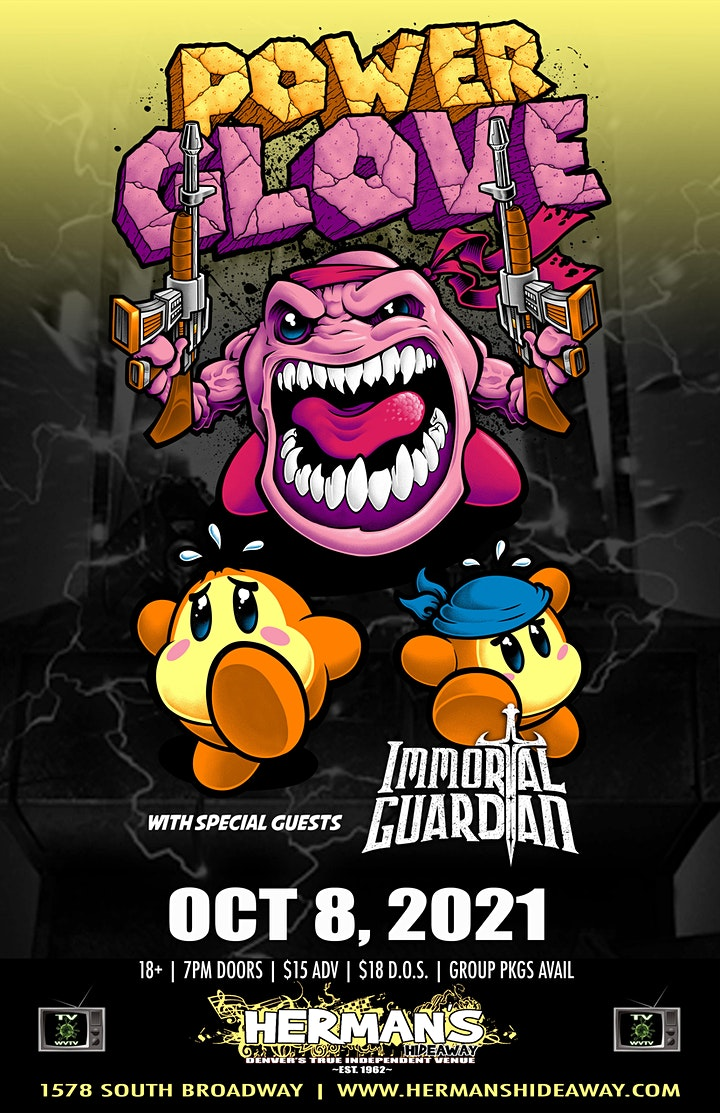 POWERGLOVE w/ IMMORTAL GUARDIAN (New Date Announced: 10/8) image