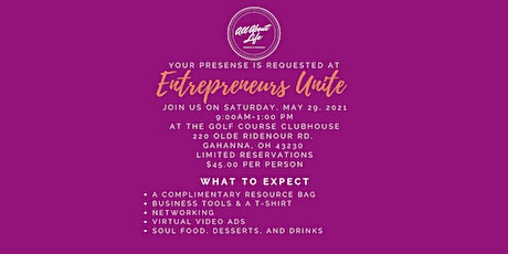 Entrepreneurs Unite: Workshop & Soul Food Bruncheon tickets
