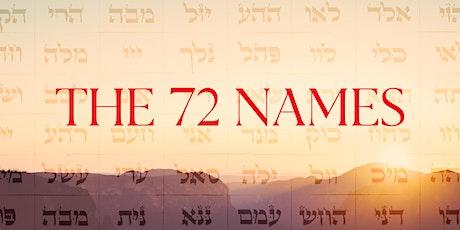 72 Nombres de Dios | David  Heiblum boletos