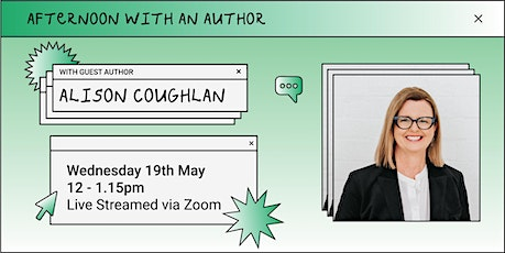Afternoon with an Author with Alison Coughlan tickets
