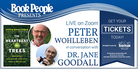 BookPeople Presents: Dr. Jane Goodall in Conversation with Peter Wohlleben tickets
