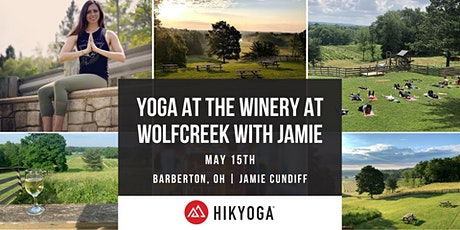 Yoga at the Winery at Wolfcreek with Jamie tickets