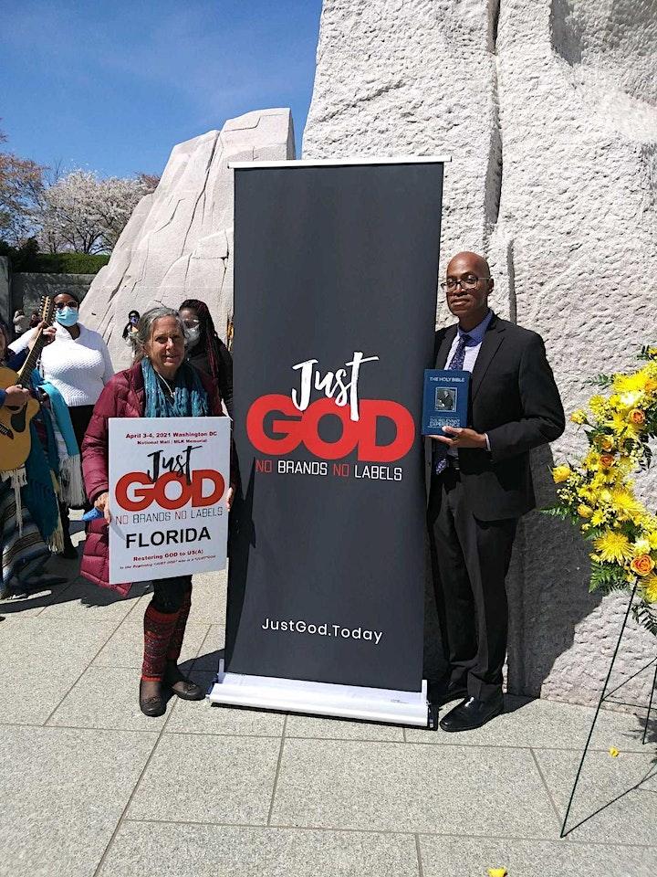 """JUST GOD"" No Brands...No Labels  Presents National Day of Prayer image"