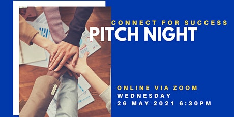 Pitch Night with Connect for Success entradas