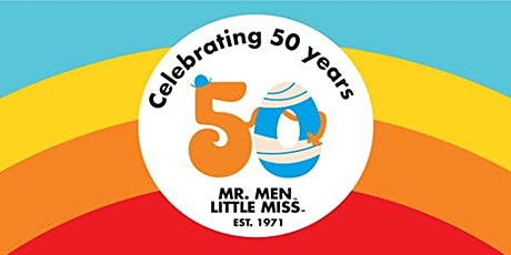 Celebrate 50 Years of Mr Men at Pictures & Pages tickets