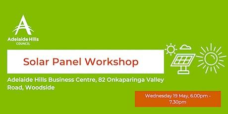 Solar Panel Workshop tickets