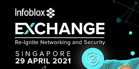 Infoblox Exchange 2021 Cybersecurity Roadshow tickets