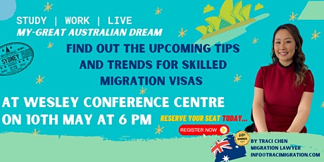 My - Great Australia Dream by Traci Chen tickets