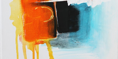 Online-Creating Abstract Art Class for Adults tickets