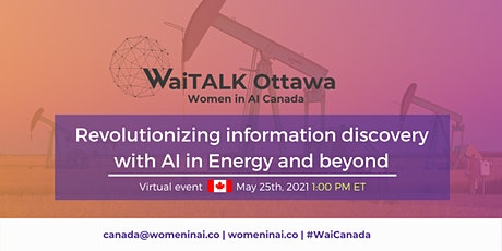 WaiTALK : Revolutionizing information discovery with AI in Energy & beyond tickets