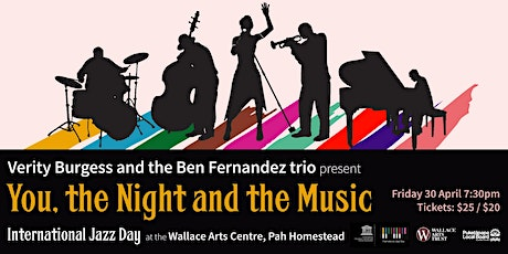International Jazz Day: Verity Burgess and the Ben Fernandez trio tickets