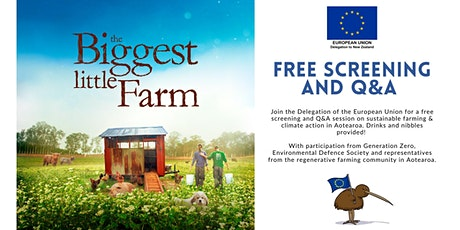 The Biggest Little Farm - free film screening and Q&A tickets
