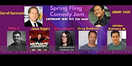 Spring Fling Comedy Jam with Darrell Hammond from SNL! tickets