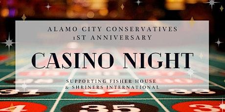 Alamo City Conservatives First Anniversary CASINO NIGHT tickets