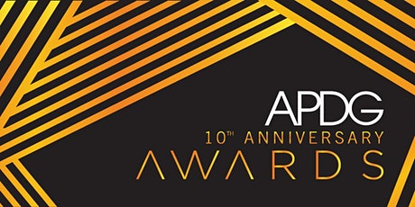10th Anniversary APDG Awards tickets