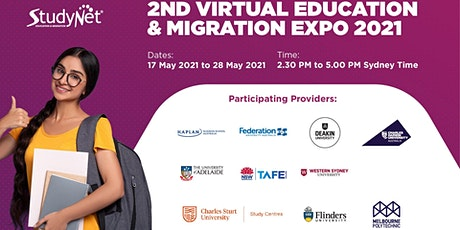 2nd StudyNet Virtual Education and Migration Expo 2021 tickets