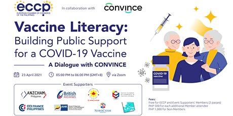 Vaccine Literacy: Building Public Support for a COVID-19 Vaccine tickets