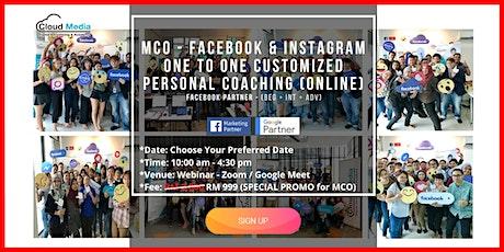 Facebook Partner - Facebook & Instagram (Online One to One Coaching) ingressos