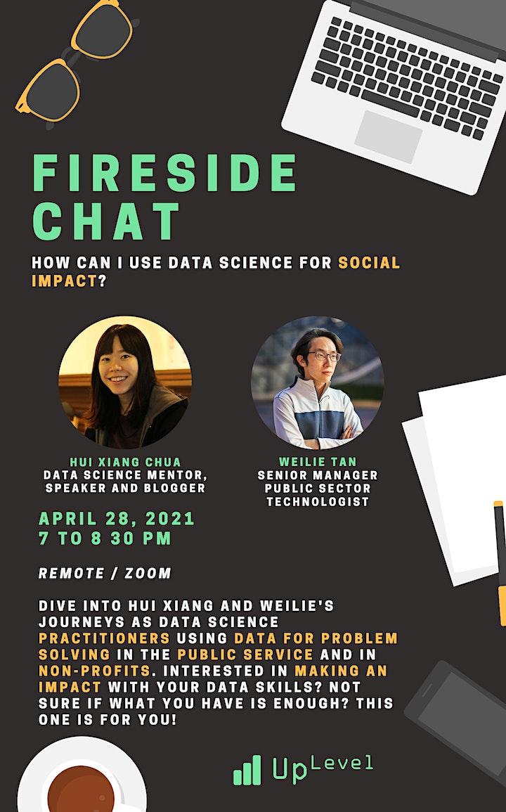 UpLevel Fireside Chat: Data Science for Social Good image