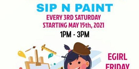 Kids Edition Sip n Paint tickets