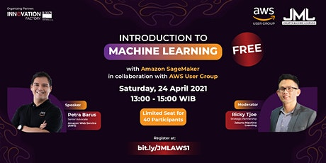 Introduction to Machine Learning with AWS SageMaker tickets
