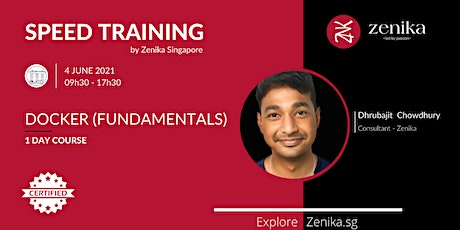Docker (Fundamentals) - Certified 1 day course by Zenika tickets