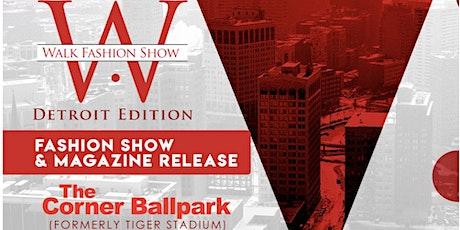 Walk Fashion Show Detroit tickets