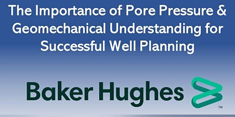 Pore Pressure & Geomechanical Understanding for Successful Well Planning tickets
