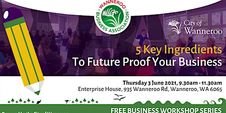Free Business Workshop - 5 key Ingredients to Future Proof your Business tickets