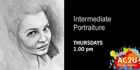 Online Intermediate Portraiture • Thursdays tickets