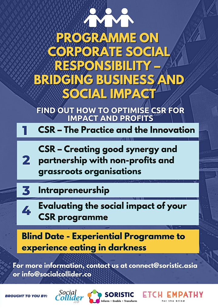 Programme on  Corporate Social Responsibility (CSR) image